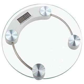 WEIGHING SCALE DIGITAL BATHROOM KITCHEN 180KG CAPACITY 11IN