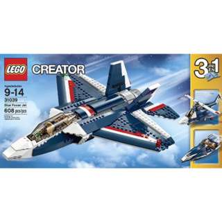 BLUE POWER JET-CREATOR 608 PCS/SET