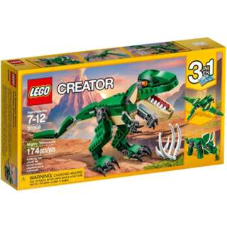 MIGHTY DINOSAURS-CREATOR 174PCS/SET