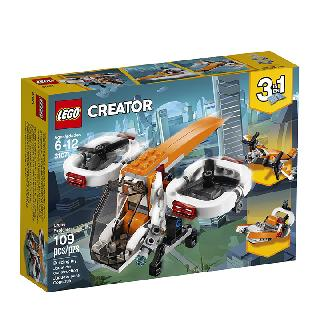 <strong>31071</strong><br>DRONE EXPLORER-CREATOR 109PCS/SET