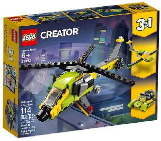 HELICOPTER ADVENTURE-CREATOR 114PCS/PACK