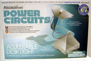 POWER CIRCUITS DESK LIGHT 