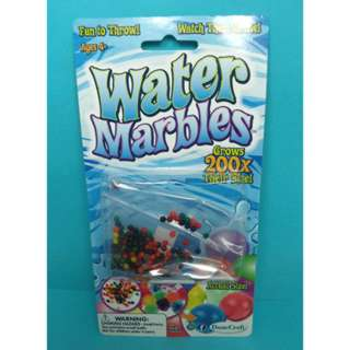 WATER MARBLES GROWS 200X THEIR SIZE