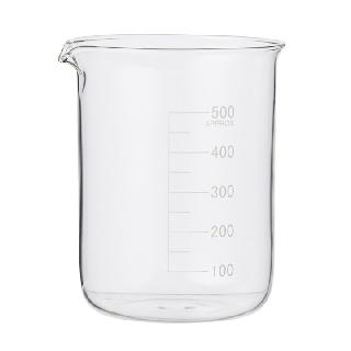 BEAKER 500ML CLEAR GLASS 