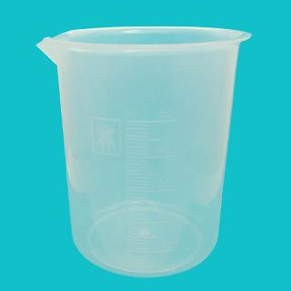 BEAKER 500ML PLASTIC GRADUATED 