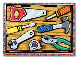 TOOLS CHUNKY PUZZLE-AGES 2+ 