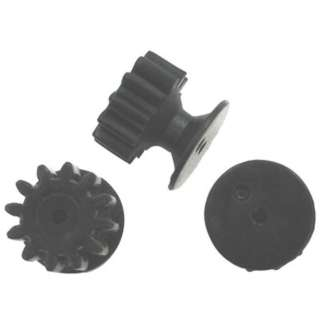 GEAR & PULLEY COMBO FITS 2MM MOTOR SHAFT 12 TOOTH
