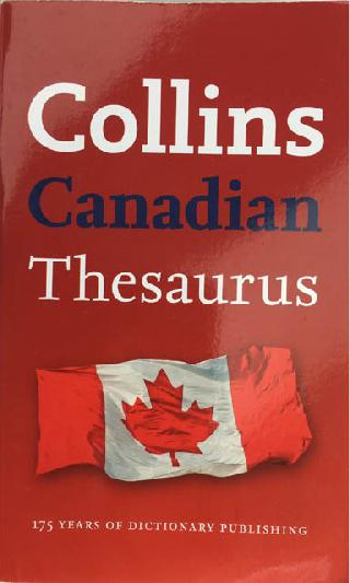 CANADIAN THESAURUS COLLINS 