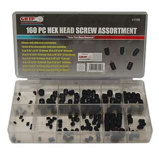HEX SOCKET SET SCREW ASSORTED 