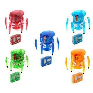 HEXBUG-SPIDER W/REMOTE CONTROL 2 SENSORS ASSORTED COLOURS