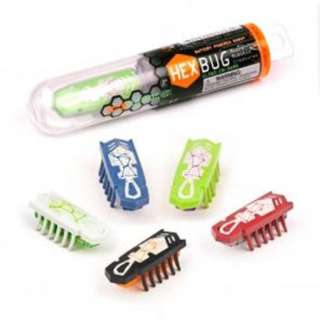 HEXBUG-NANO GLOWS IN THE DARK ASSORTED COLOURS (AG13 BATTERY)