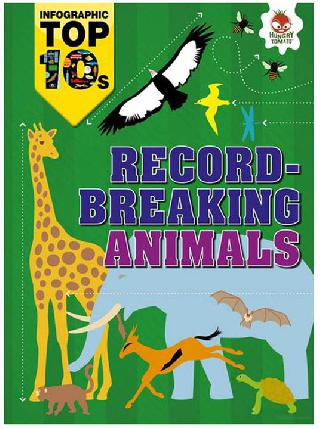 RECORD BREAKING ANIMALS INFOGRAPHIC