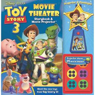 TOY STORY 3 BOOK & MOVIE PROJECTOR WITH 24 MOVIE IMAGES