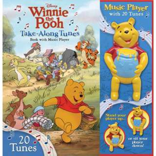 DISNEY WINNIE THE POOH BOOK WITH MUSIC PLAYER 20 TUNES
