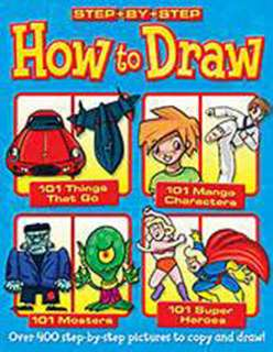 HOW TO DRAW 101 THINGS-BOOK ASSORTED