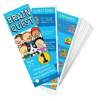 BRAIN QUEST GRADE1 4TH EDITION