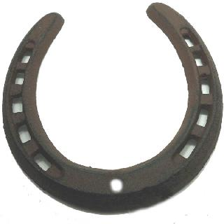 HORSE SHOE CAST IRON 13X12X.8CM LARGE