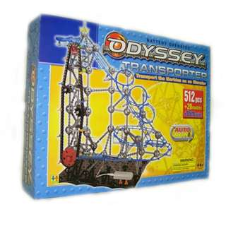 ODYSSEY TRANSPORTER-BALL ROLLER GAME 512PCS AND 20 MARBLES