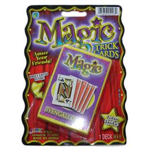 MAGIC TRICK CARDS 