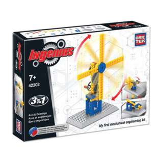 INGENIUS AXES & GEARS REBUILDS INTO 3 ENGINEERING KIT