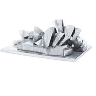 SYDNEY OPERA HOUSE 3D LASER CUT MODEL 3SHEETS