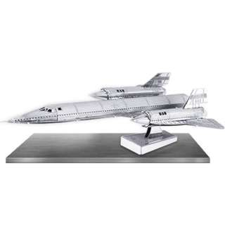 SR-71 BLACKBIRD METAL EARTH 3D LASER CUT MODEL
