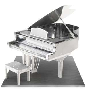 GRAND PIANO 3D LASER CUT MODEL 2SHEETS