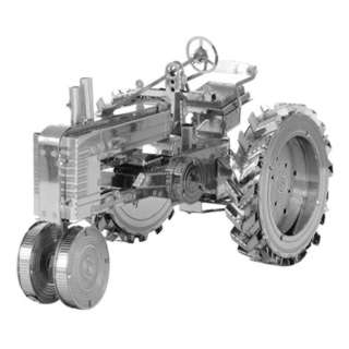 FARM TRACTOR METAL EARTH 3D LASER CUT MODEL