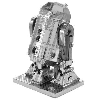 R2-D2 STAR WARS METAL EARTH 3D LASER CUT MODEL