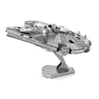 MILLENNIUM FALCON-STAR WARS METAL EARTH 3D LASER CUT MODEL