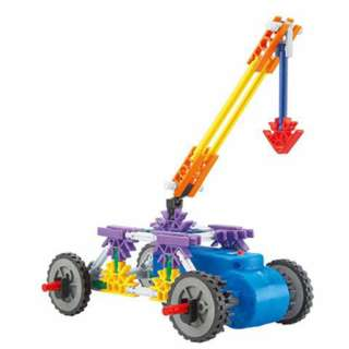 TOGETHER BUILDING TOY CRANE 2XAA BATTERIES NOT INCLUDED