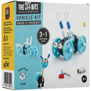 OFFBITS 3 IN 1 VEHICLE KIT BLU 