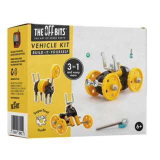 OFFBITS 3 IN 1 VEHICLE KIT YEL 