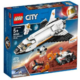 MARS RESEARCH SHUTTLE -CITY 273 PIECES/KIT