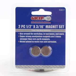 MAGNET DISC 1/2 X 3/16IN 