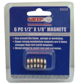 MAGNET DISC 1/2 X 1/8IN 