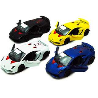 LAMBORGHINI PULL BACK 5IN MODEL ASSORTED COLORS 1~;38 SCAL