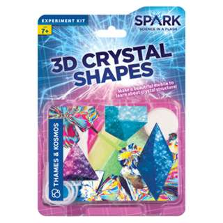 3D CRYSTAL SHAPES EXPERIMENT KIT 