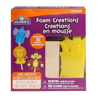FOAM CREATIONS CREATE 30 ANIMAL PUPPETS