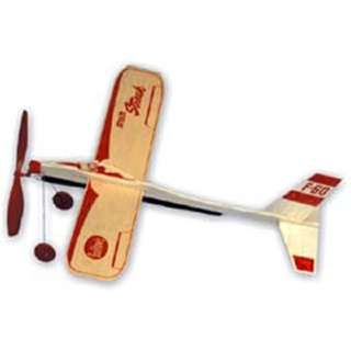 STRATO STREAK AIRPLANE-RUBBER POWERED W/LANDING GEAR