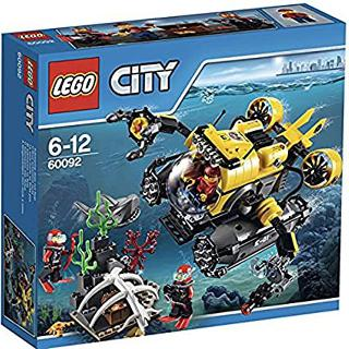 DEEP SEA SUBMARINE-CITY 274 PCS-SET