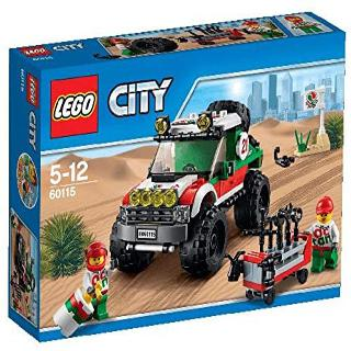 4X4 OFF ROADER-CITY 176 PCS/SET