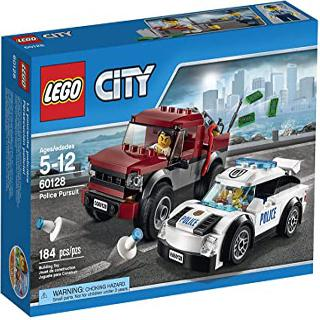 POLICE PURSUIT-CITY 184 PCS/SET