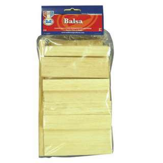WOOD STRIP ASSORTED BALSA 