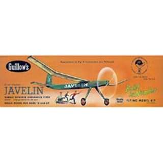 JAVELIN-RUBBER POWERED FLYER KIT 24 INCH WING SPAN