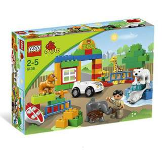 MY FIRST ZOO - DUPLO 60PCS/PACK