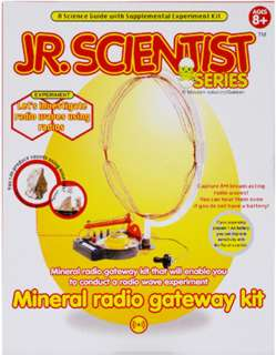 MINERAL RADIO GATEWAY KIT A SCIENCE GUIDE W/EXPERIMENT KIT