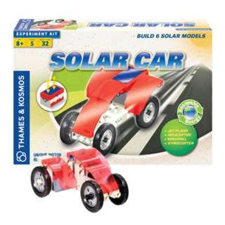 SOLAR CAR 5 EXPERIMENTS 37 PIECES 28 MANUAL PAGES