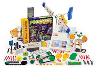 PHYSICS WORKSHOP-AGES 8+ 305 PCS 37 EXPERIMENTS