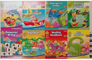 KINDERGARTEN WORKBOOK ASSORTED